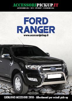 2018 Catalogo accessori pick-up FORD Ranger