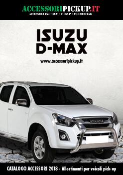 2018 Catalogo accessori pick-up ISUZU D-MAX