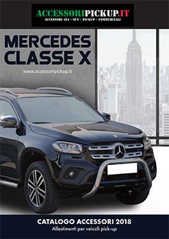 2018 Catalogo accessori  MERCEDEX CLASSE X