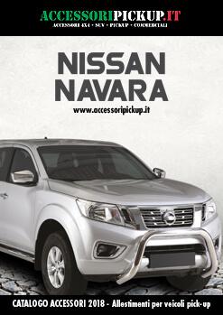2018 Catalogo accessori pick-up NISSAN Navara